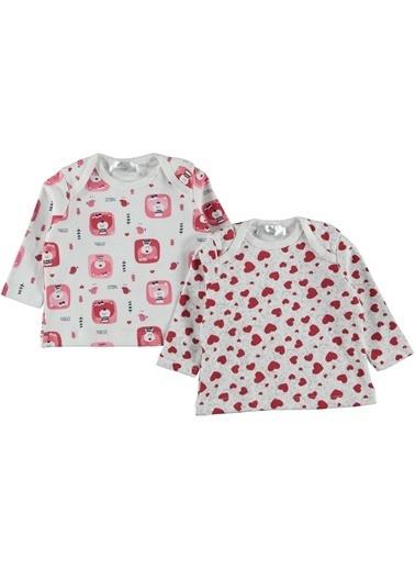 Locopop 2'li Pijama Üst Kırmızı